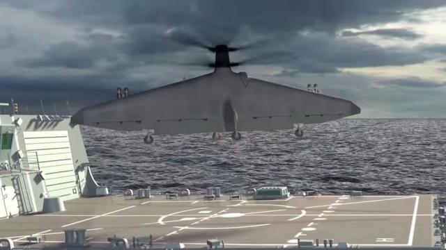 В 2018 році DAPRA  випробовуватиме безпілотник вертикального злету Tern