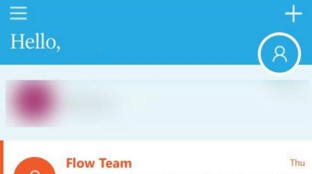 Скриншоты приложения для переписки Microsoft Flow