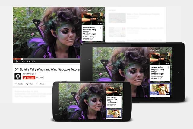YouTube представляет интерактивные карточки