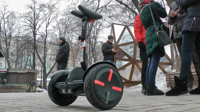 Магазин MOYO совместно с Ninebot by Segway провели зимний тест- драйв персонального электротранспорта