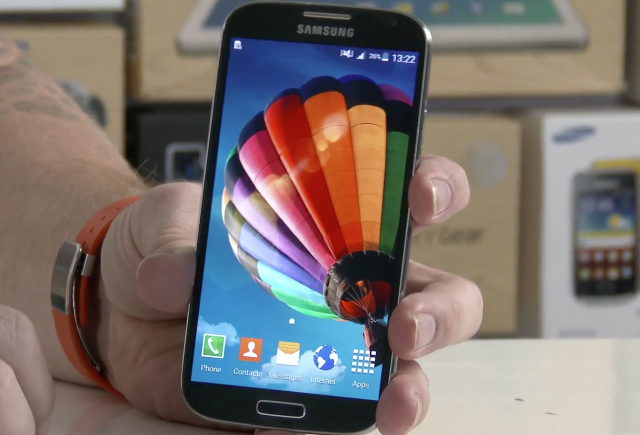 Android 5.0 Lollipop на смартфоне Galaxy S4 в новом видео