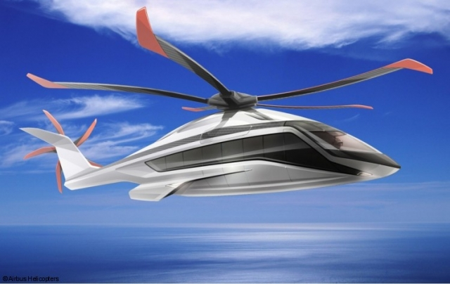 Airbus представили концепт грузоподъемного вертолета X6 на Парижском авиасалоне