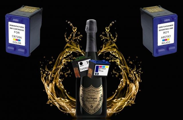 Почему заправлять струйные картриджи шампанским Dom Pérignon дешевле?