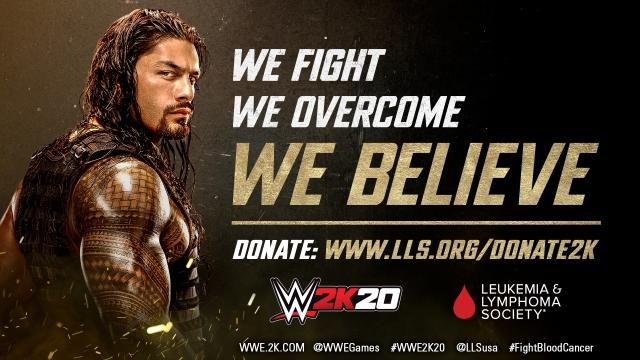 2K пожертвує 500 000 $ благодійній організації по боротьбі з лейкемією та лімфомою The Leukemia & Lymphoma Society