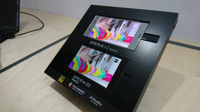Sony Xperia XZ Premium з функцією зверхсповільненої зйомки відео