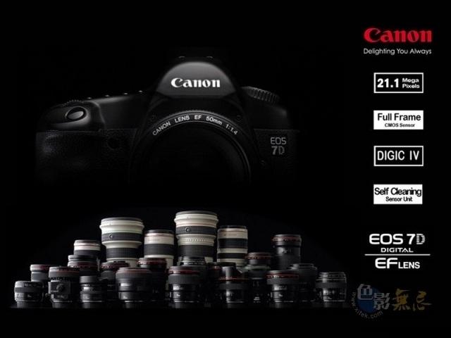 Canon добавляет новые функции в EOS 7D