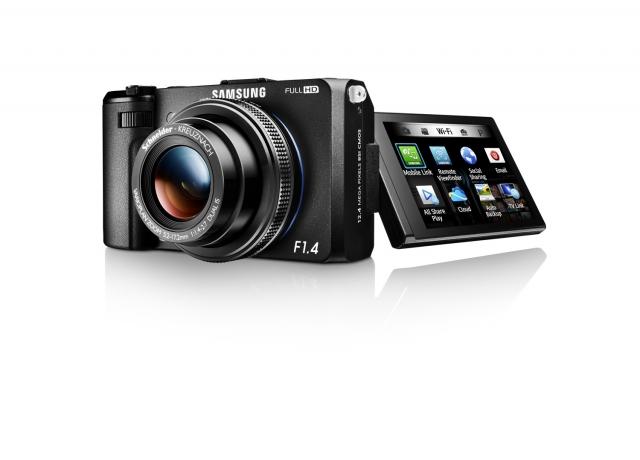 SMART-фотокамера Samsung EX2F с поддержкой Wi-Fi
