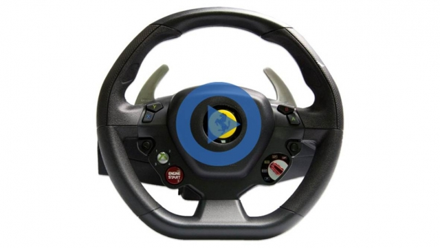Руль Thrustmaster Ferrari 458 Italia racing wheel for PC/Xbox 360 - разберем детально