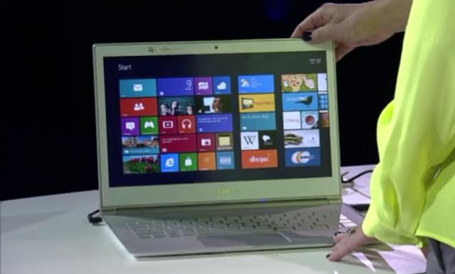 Суперновинки на Windows 8, анонсированные сегодня на Microsoft WPC, Acer