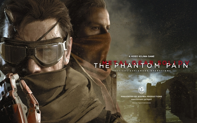 Выходящие в 2015: Metal Gear Solid V: The Phantom Pain