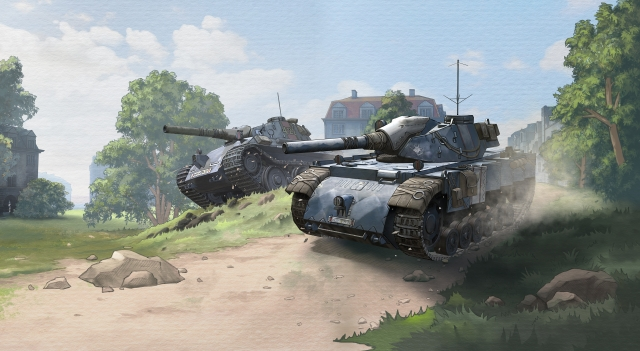 Wargaming и SEGA подружат World of Tanks Blitz и Valkyria Chronicles