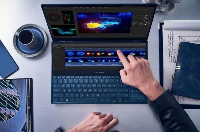 ASUS ZenBook Pro Duo з двома дисплеями доступний в Україні