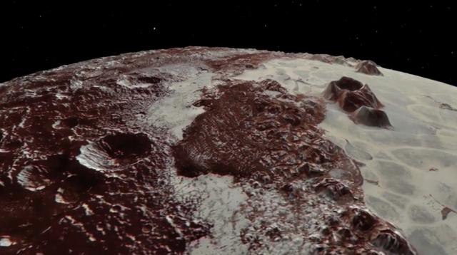 NASA опублікувало дивовижні відео Плутона і його супутника