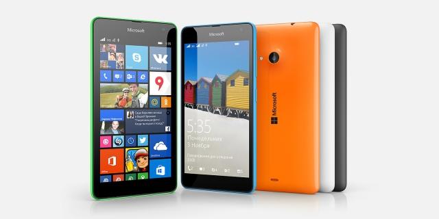 Microsoft порадовали стабильно высокие продажи Lumia 535