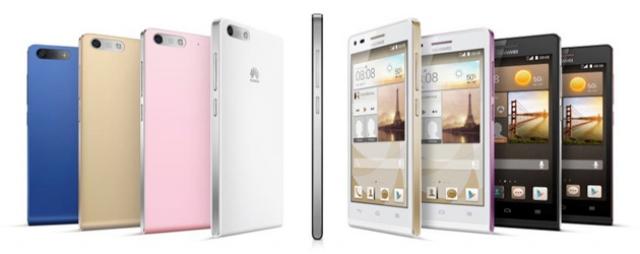 MWC 2014: Huawei показала свой новый смартфон Ascend G6