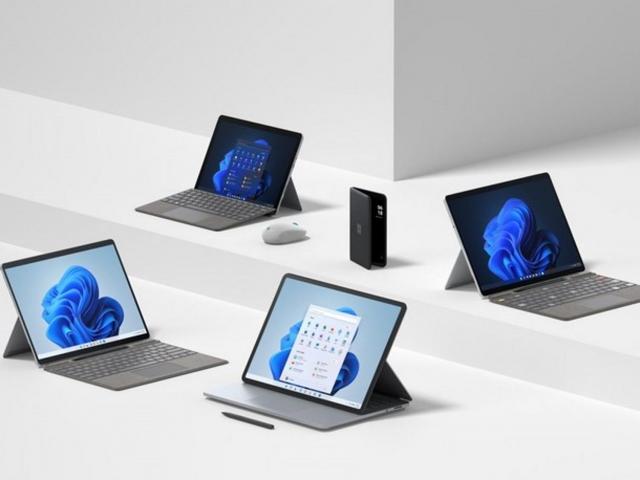 Microsoft анонсувала нові планшети та ноутбуки Surface
