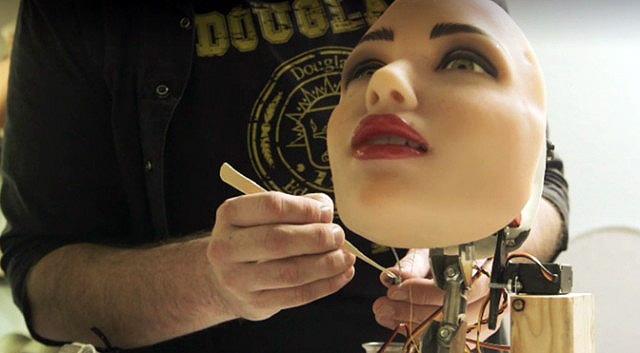 Искусственный интеллект в коммерческих секс-куклах (sexbot)