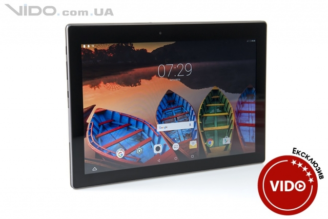 Огляд планшета Lenovo Tab 3 Business: планшет з характером