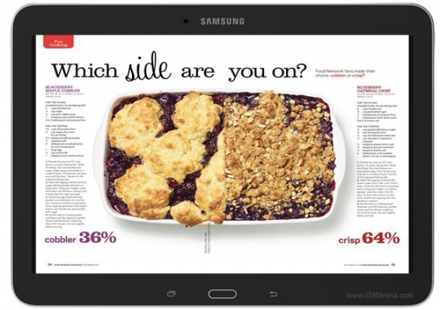 Samsung представила планшет Galaxy Tab 4 Nook 10.1 совместно с Barnes & Noble
