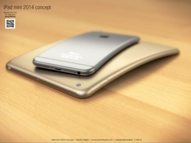 За гибким iPhone 6 Plus последовала концепция гибкого iPad mini