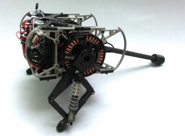 Миру представлен робот-тушканчик