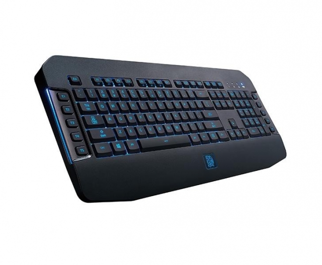 Tt eSports представила игровую клавиатуру-мечту