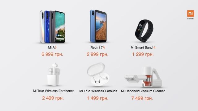 Xiaomi представила смартфон Mi A3  в Україні