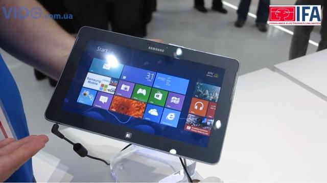 Samsung ATIV Tab – 10,1-дюймовый планшет под управлением ОС Windows 8