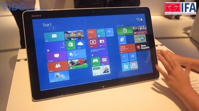 Sony VAIO Tap 20 – сенсорный моноблок, который можно использовать в качестве планшета