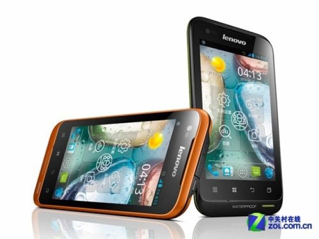 Представлен водозащищенный Dual SIM от Lenovo - A660 на Android 4.0