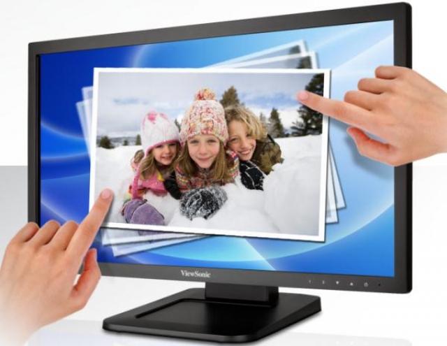 Монитор от ViewSonic с сенсорной технологией Dual Point Optical Touch