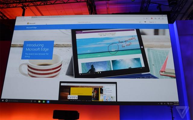 Project Spartan получил новое название, Microsoft анонсировали браузер Edge