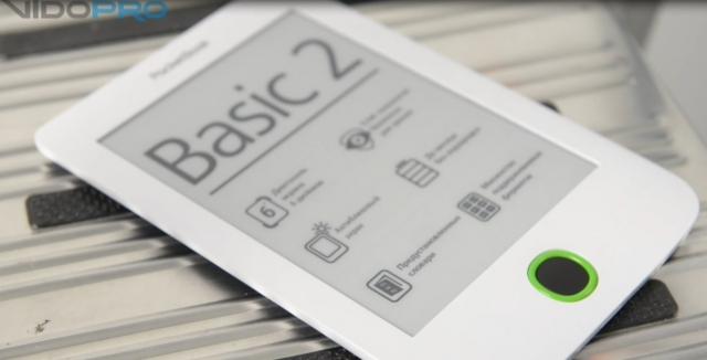 Видеообзор ридера PocketBook Basic 2: проверенный временем