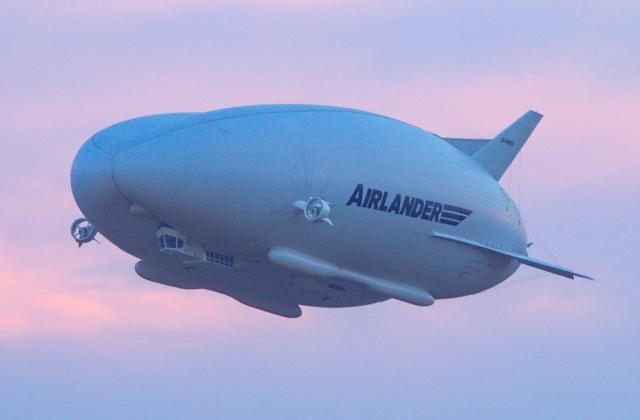 Оновлений гігантський дирижабль Airlander 10 знову з'явиться в повітрі