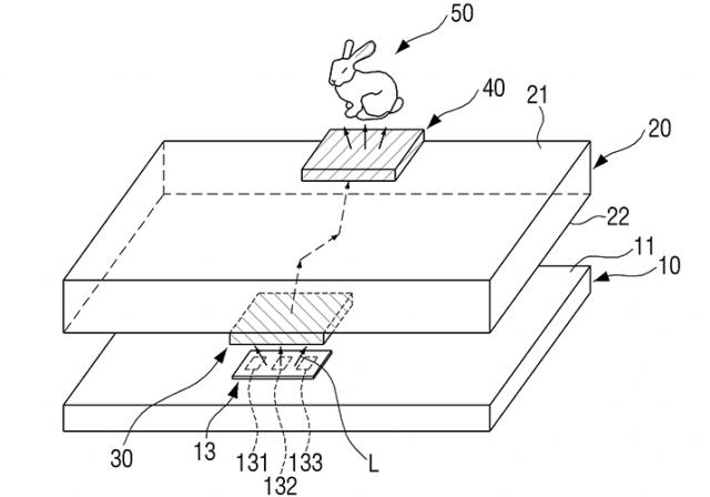 Патент компании Samsung может добавить голограммы на экраны смартфонов