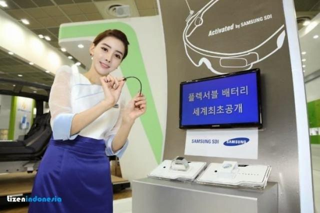 Samsung анонсировала гибкую, гнущуюся и сворачивающуюся батарею