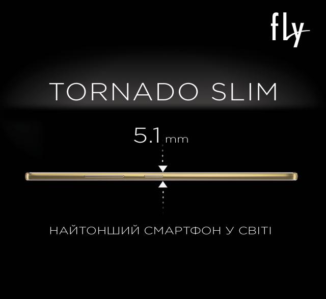 Fly Tornado Slim толщиной всего 5,1 мм
