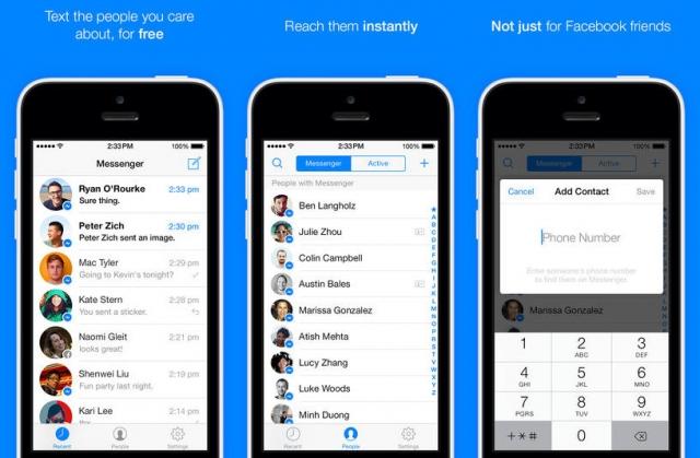 скачать приложение messenger