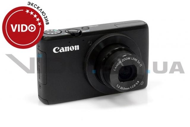 Обзор фотоаппарата Canon PowerShot S200: твердые намерения