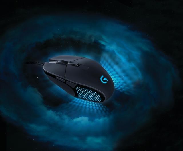 Новая игровая мышь Logitech G303 Daedalus Apex с лучшим оптическим датчиком
