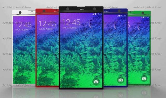 Смартфон моей мечты: модульный Yako похож на усовершенствованный Galaxy Note