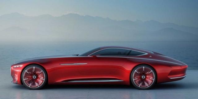 Новий концепт-кар Mercedes-Maybach конкурує з Tesla