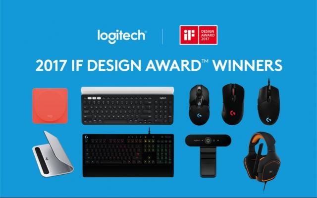 Logitech отримала дев'ять нагород iF DESIGN AWARDS 2017