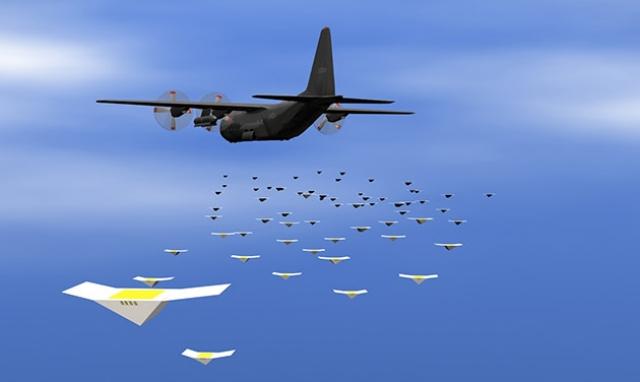 Крошечные и дешевые военные дроны Cicada могут подслушивать противника