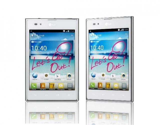 Смартфон LG Optimus VU в продаже с 8 ноября