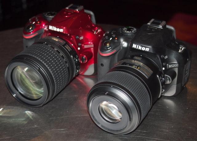 D5200 DSLR – новая камера от Nikon