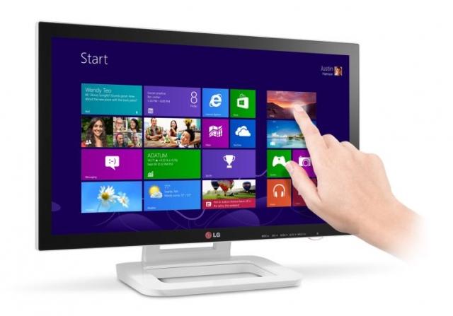 Монитор LG TOUCH 10 с оптимизацией под Windows 8