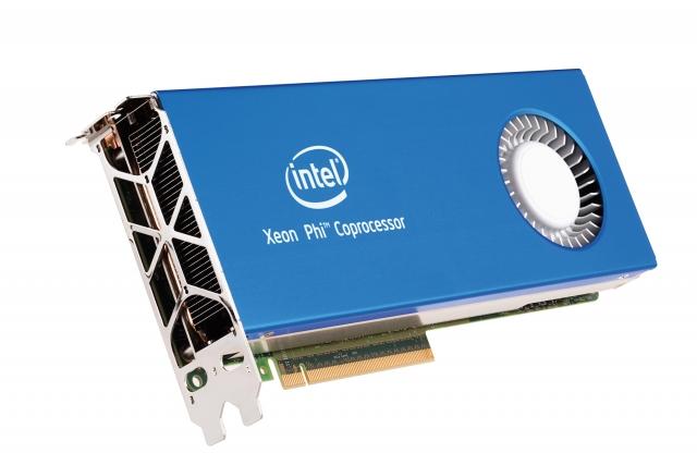 Intel представила сопроцессоры Xeon Phi