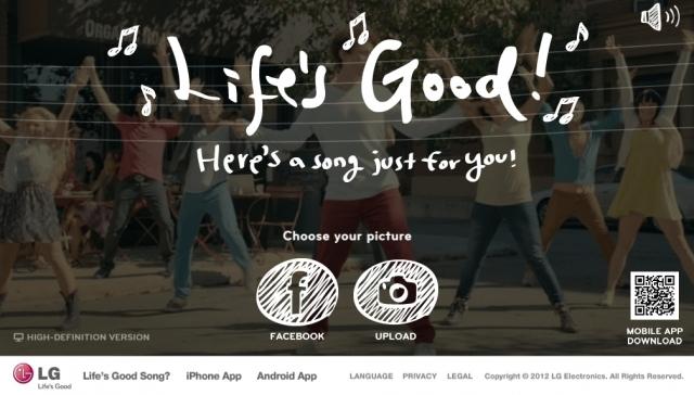 LG запускает новую кампанию в социальных сетях