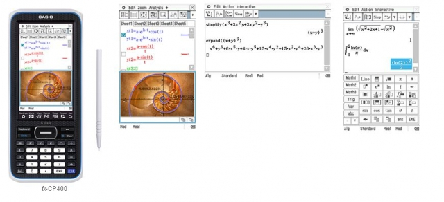 Анонсирован графический калькулятор Casio fx-CP400